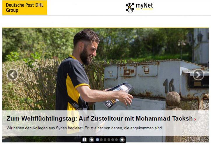 zur PDF - Deutsche Post DHL zum Weltfüchtlingstag