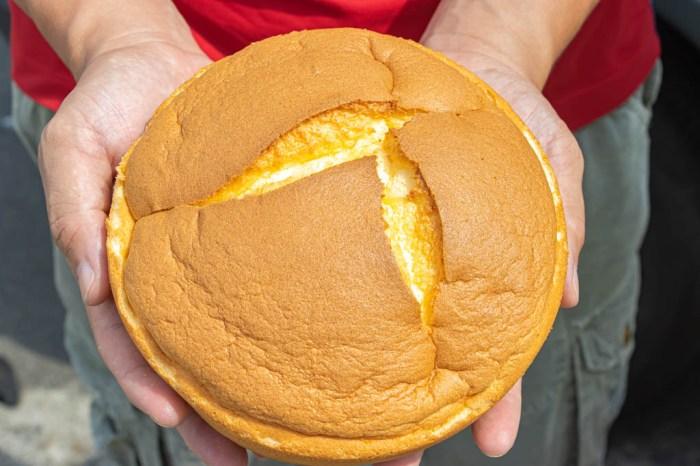 彰化伴手禮,小美布丁蛋糕~古早味軟綿蛋糕好迷人。