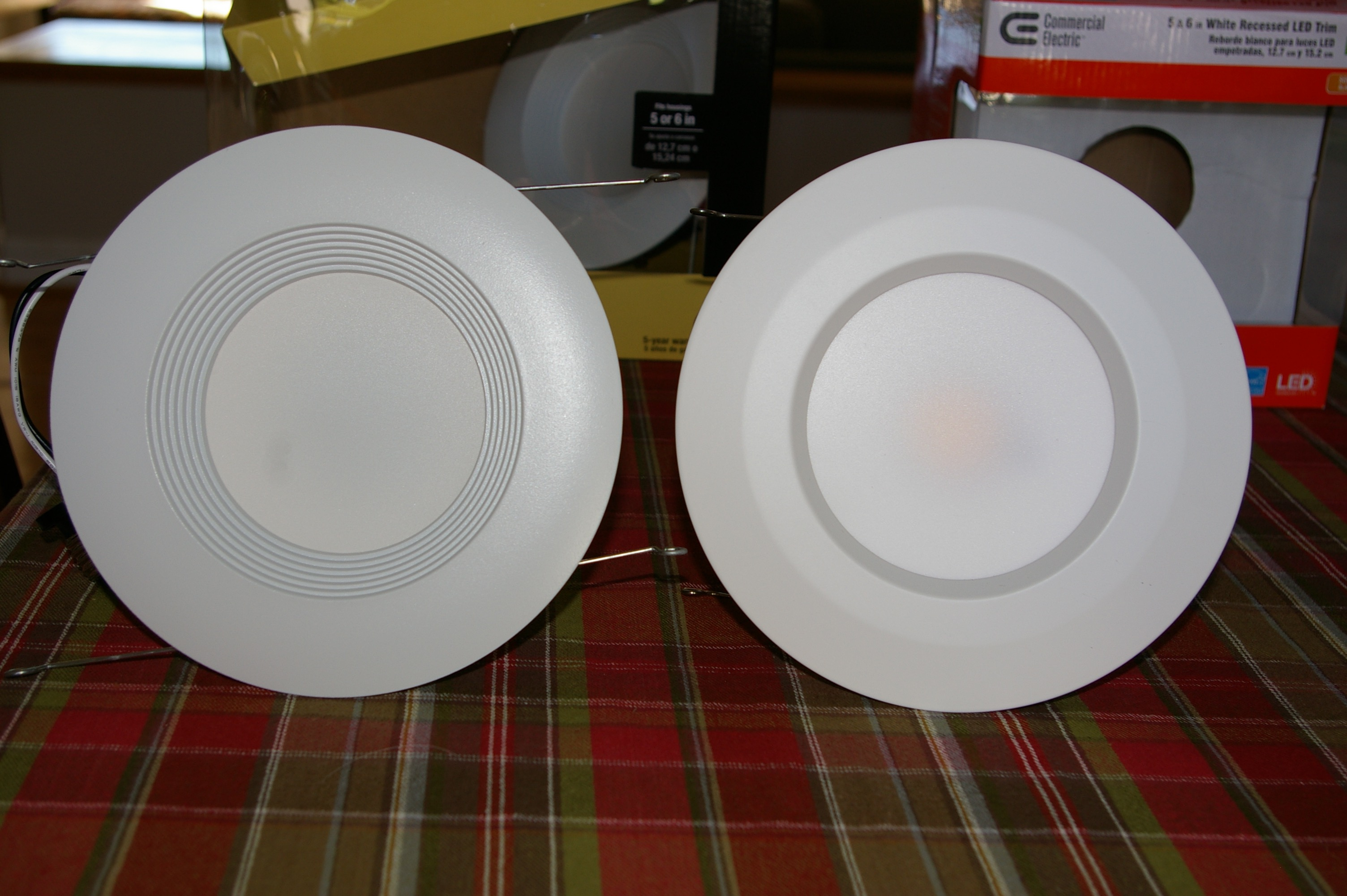 led recessed lighting shootout home
