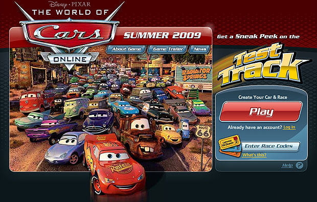 World Of Cars Screenshot 1