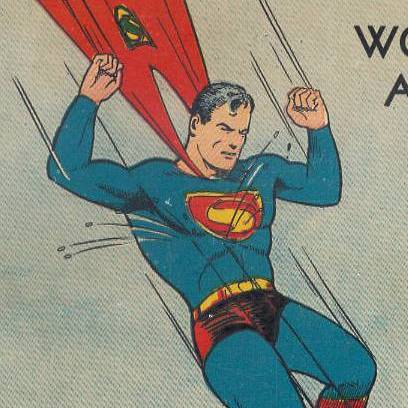 Detail from Superman 7 cover art