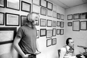 Joe Spake and Earl Scruggs