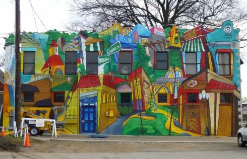 Overton Square Mural