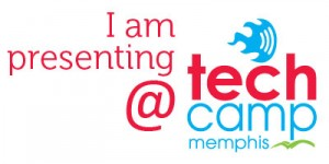i am presenting tech camp