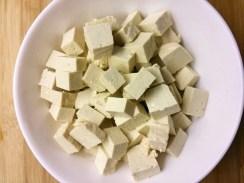 Tofu-Würfel