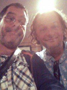 Ralph Salmins and I