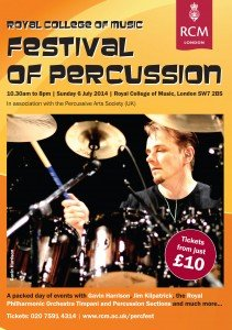 Royal College Of Music Festival Of Percussion 2014