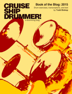 Cruise Ship Drummer2015 Book of the Blog