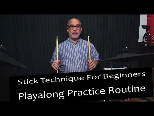 Drumstick Technique Playalong