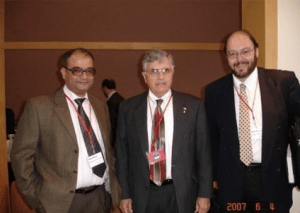 Banerji`s with Dr. Harrison Schmitt, Scientist and Astronaut, NASA