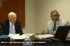 Dr. John Mendelsohn, chief of the UT MDACC