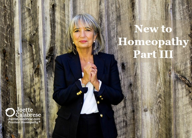 Joette Calabrese Practical Homeopathy