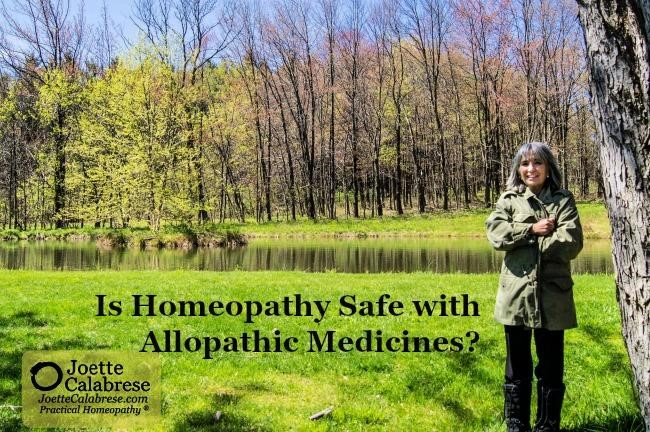 Homeopathics safe with Allopathic Drugs