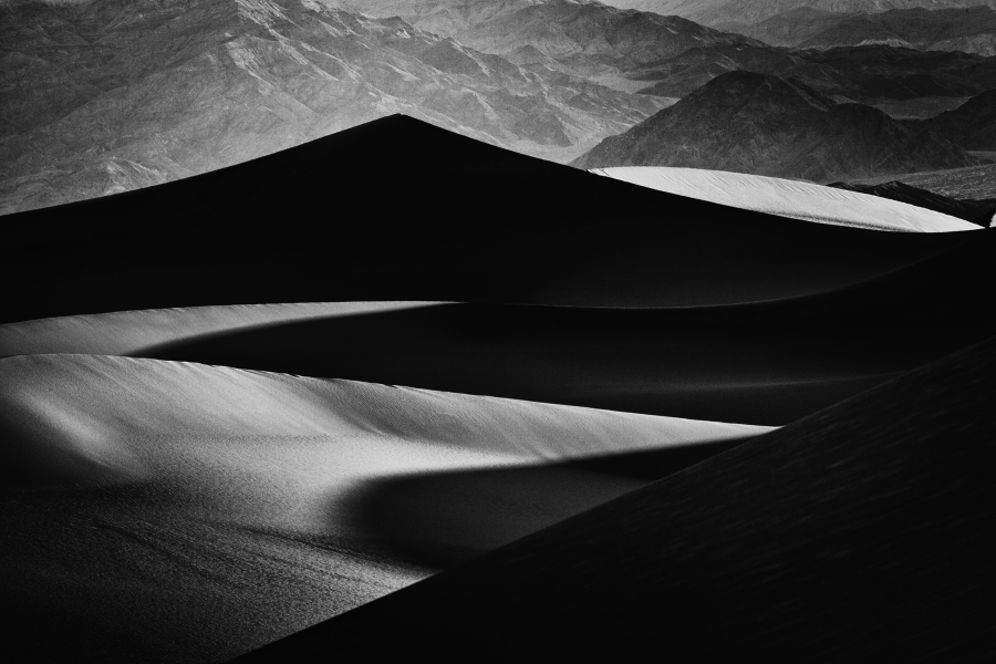 Light and Shadow - Sand Dunes