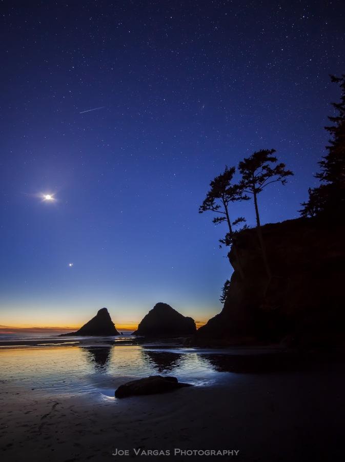 Magical Twilight on the Oregon Coast