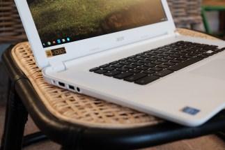 Acer Chromebook 15 Keyboard Left