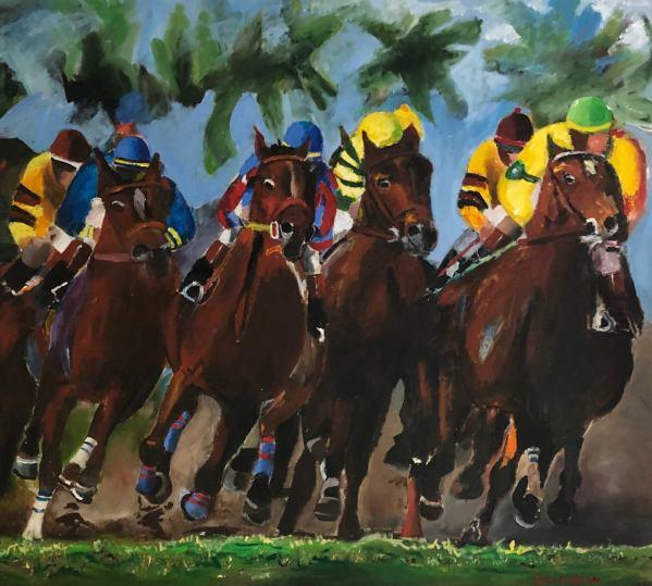 Florida race Horse Thoroughbred