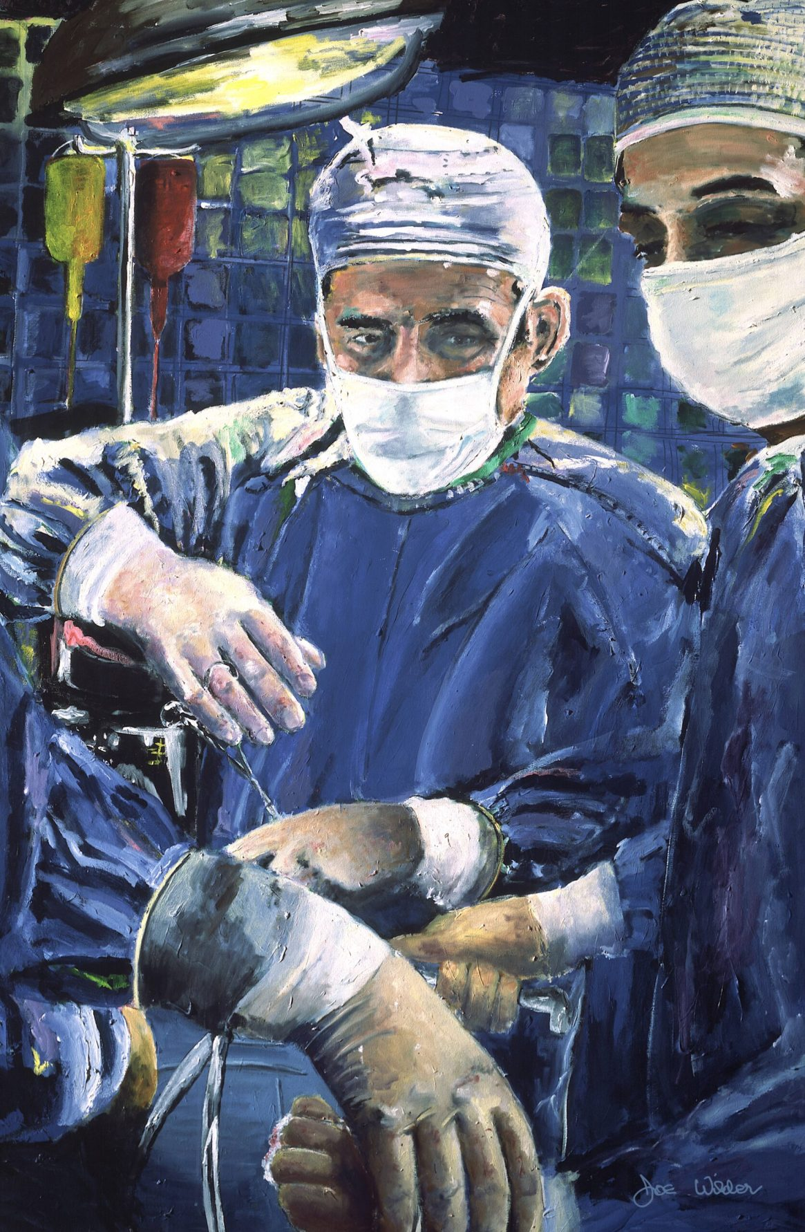Magic Hands of Surgeon Surgery Art