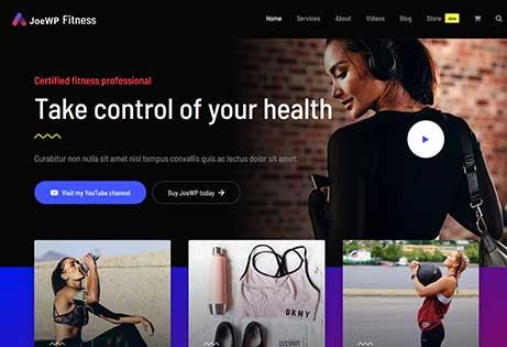 Fitness Website Wordpress Woocommerce Agency Joewp