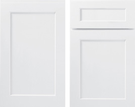 Seeking timeless white cabinets