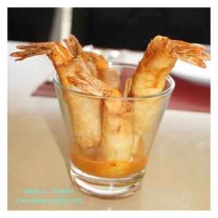 Chinese Fire Cracker Shrimp