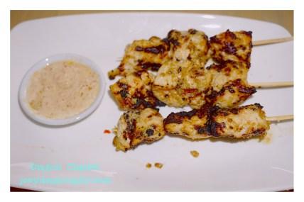 Indonesian Chicken Satay