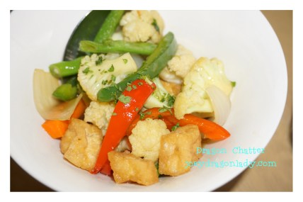 Chinese Styled Stir-Fried Vegetables