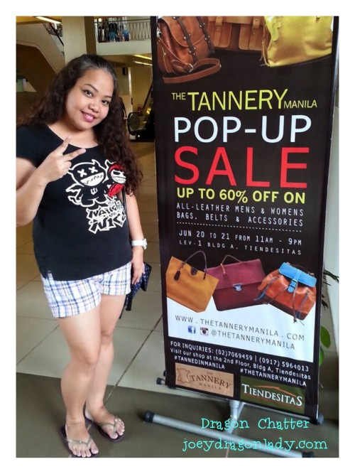 Tannery Manila Pop Up Sale at Tiendesitas