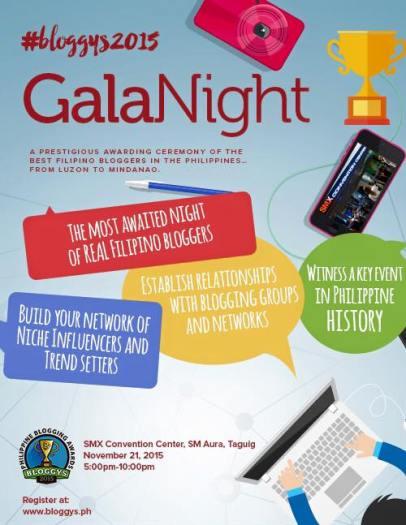 Gala Night Bloggy2015