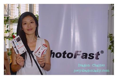 PhotoFast VP Carol Chen