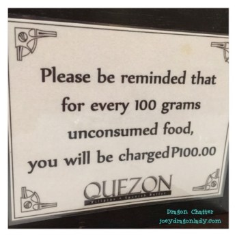 Quezon Buffet 4