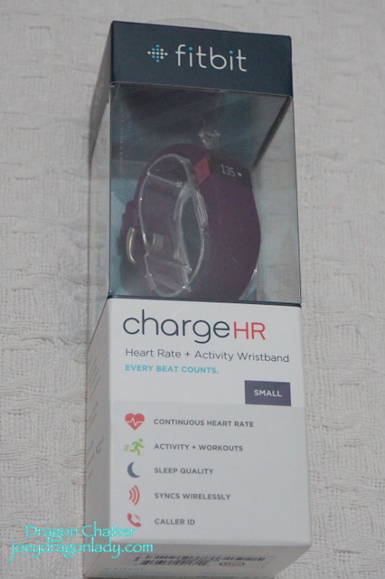 Fitbit Charge HR Size: Small Color: Plum Price: 6999php Available at: Beyond the Box Branches