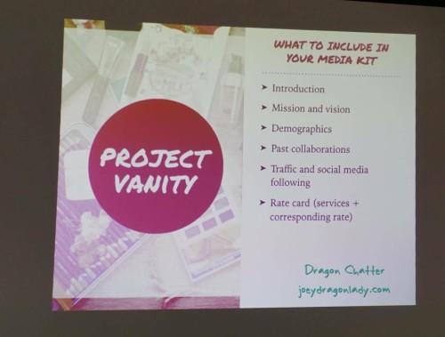 Project Vanity Media Kit