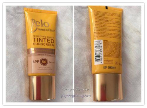 Belo SunExpert Tinted Suncreen