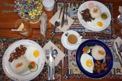 Concha`s Garden Cafe Breakfast