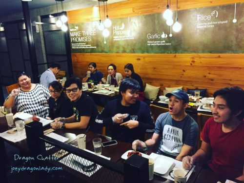 KyoChon Red Chicken Eating contest