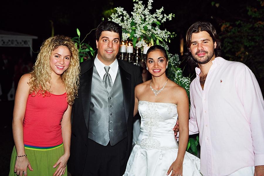 Shakira At Joey Issa's Wedding