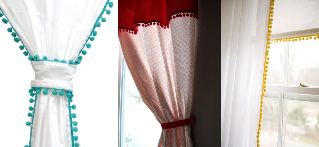 Perfect Pom Pom Curtains Giveaway Winner! Joey And Lana Make A