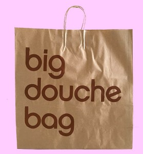 Pop Art, art, Joey Maas, Palm Springs Art, bloomingdales, big douchebag, big brown bag