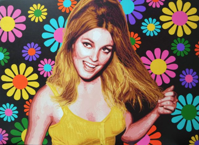 Pop Art, art, Joey Maas, Palm Springs Art, sharon tate, manson murders, manson family, sharon tate polanski, once upon a time in hollywood, hollywood, cielo drive, beverly hills.