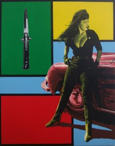 Pop Art, art, Joey Maas, Palm Springs Art, los angeles, hollywood, tura satana
