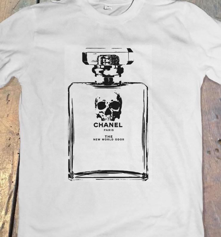 Pop Art, art, Joey Maas, Palm Springs Art, Chanel, tshirt, spoof, hipster, new world order, illuminati