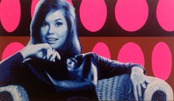 Pop Art, art, Joey Maas, Palm Springs Art, Mary Tyler Moore, 70's