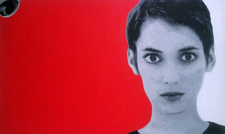 Pop Art, art, Joey Maas, Palm Springs Art, winona ryder, girl interrupted, shoplifting,