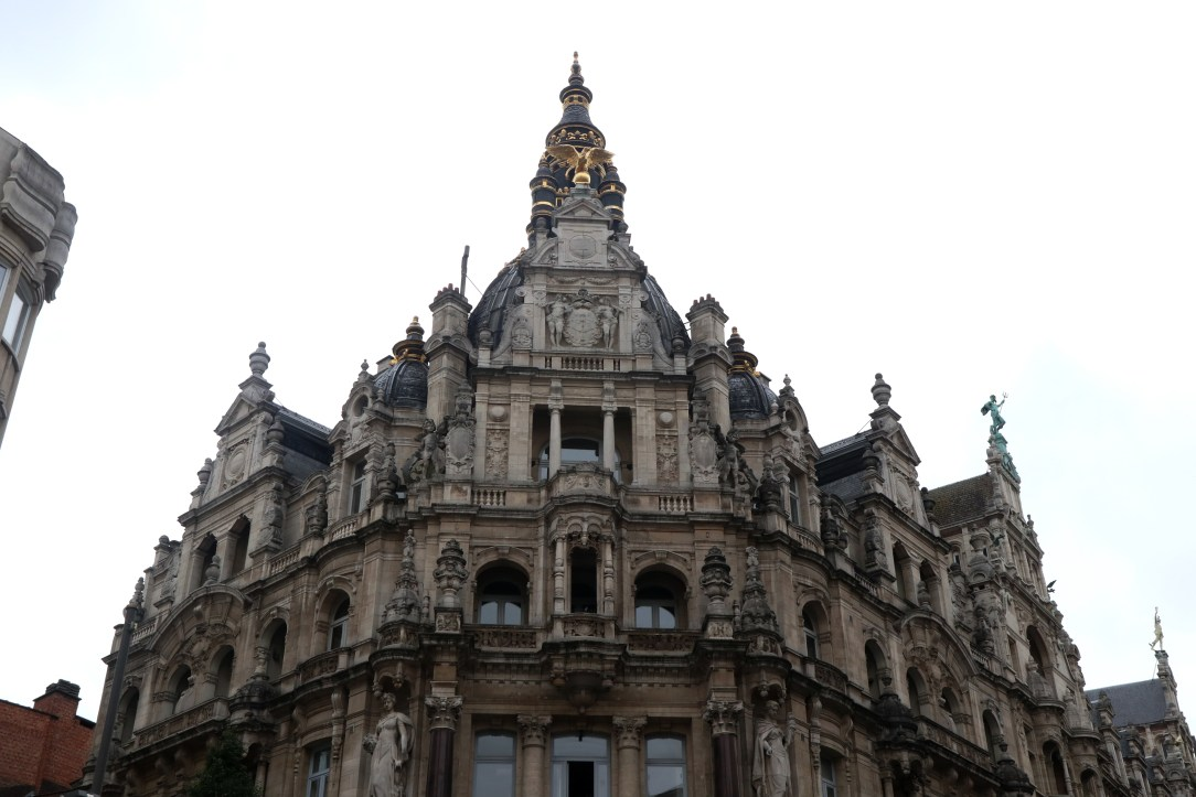 Antwerp was once home to wealthy merchants of Europe.