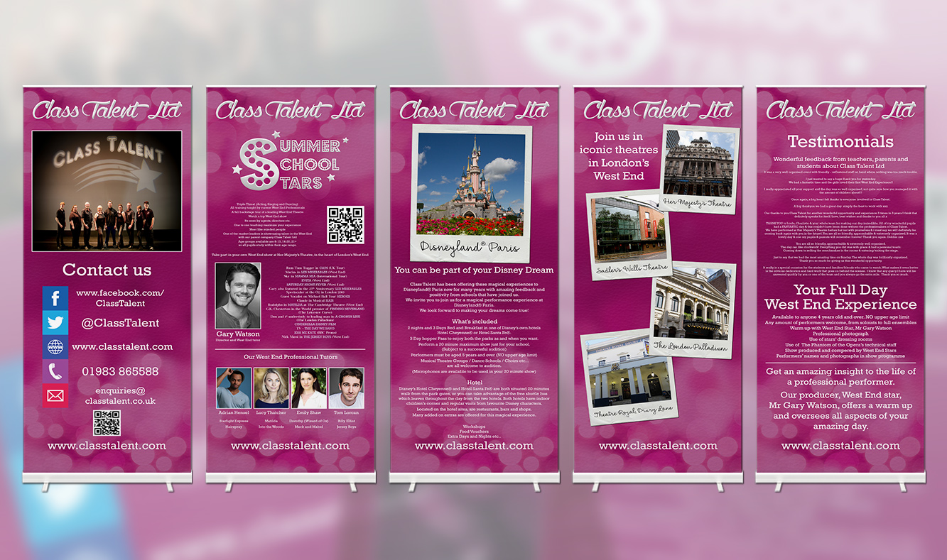 Class Talent Move It 2016 Banners