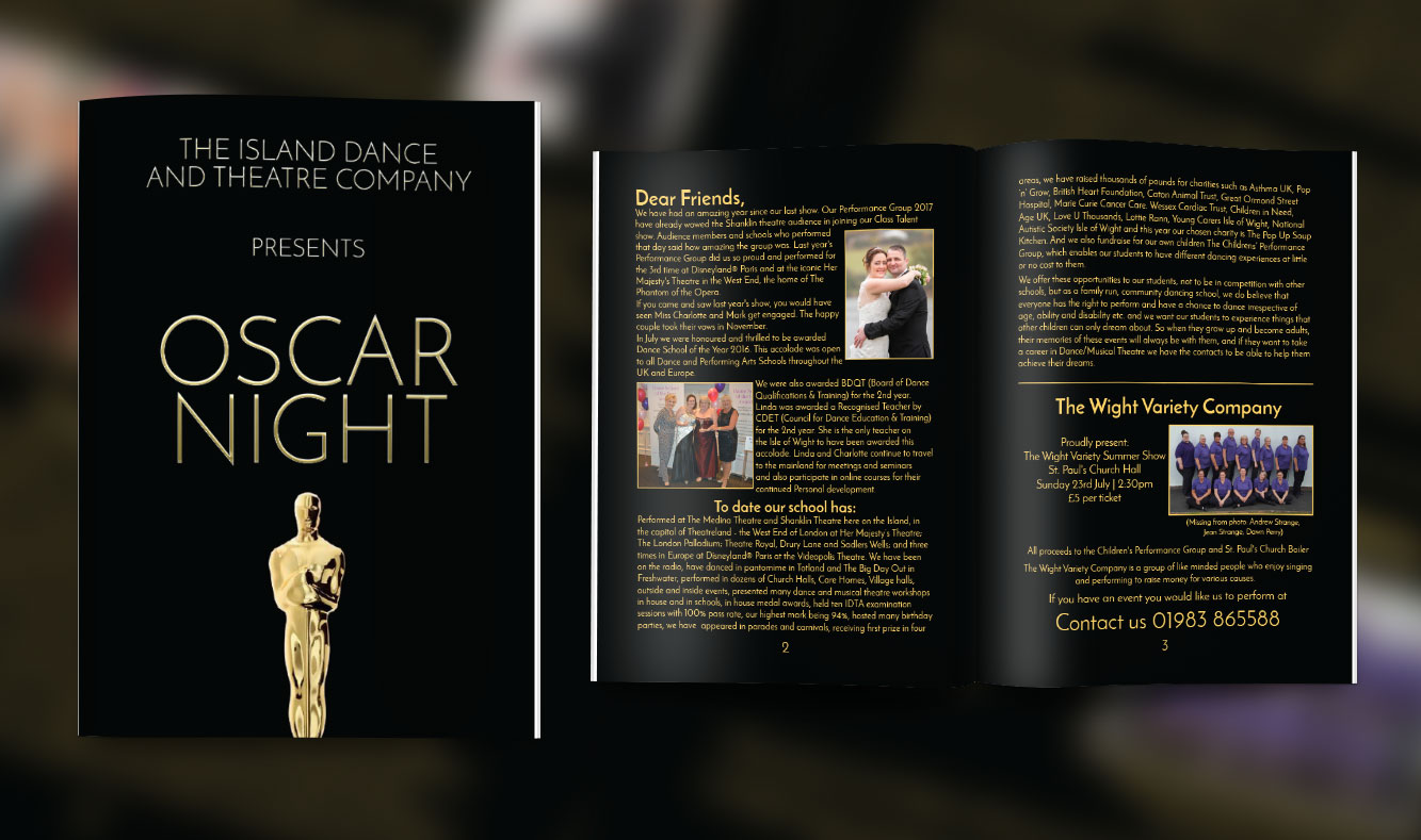 Oscar Night Programme