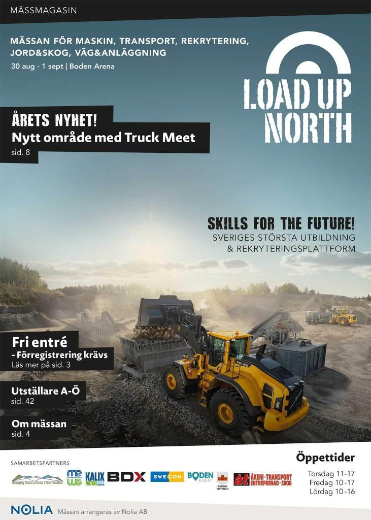 Load Up North Mässtidning