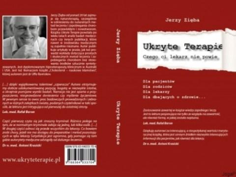 Ukryte Terapie Jerzy Zięba kiążka