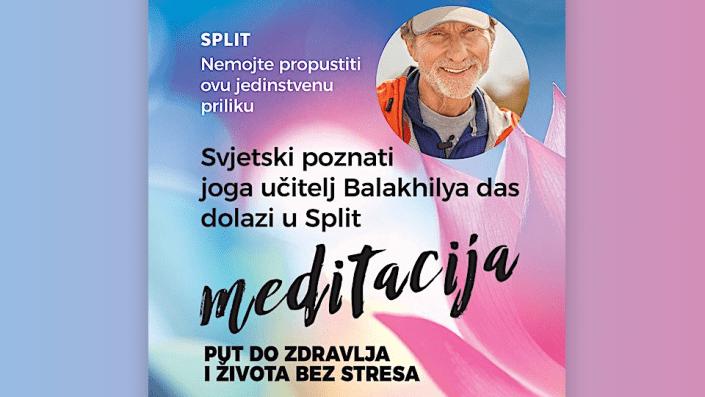 Meditacija – Put do zdravlja i života bez stresa. Balakhilya das